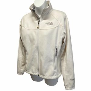 THE NORTH FACE WINDWALL Full Zip Cream Ivory SMALL